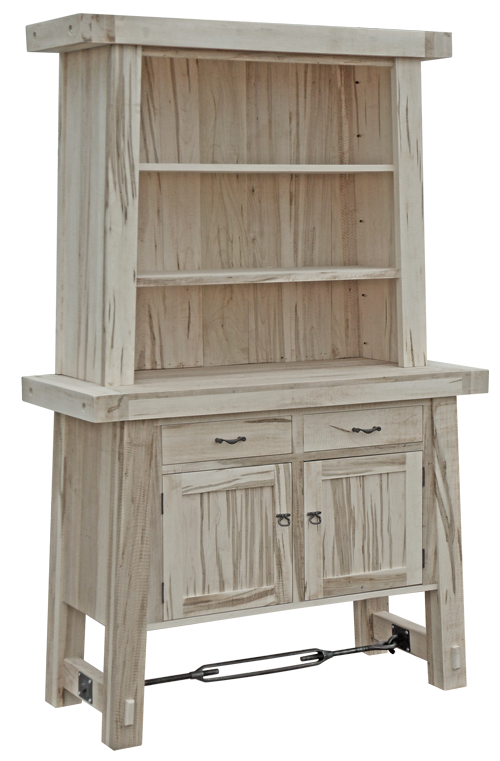 Yukon Turnbuckle Sideboard with Hutch