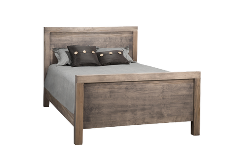 Baxter Panel High Footboard Bed