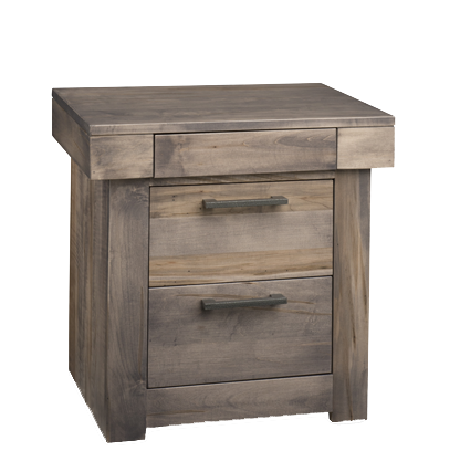 Baxter 3 Drawer Nightstand