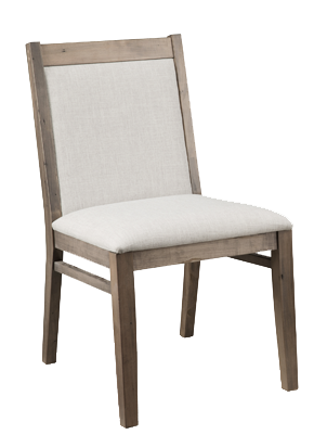 Baxter Padded Back Chair in Fabric P-BA20Fabric