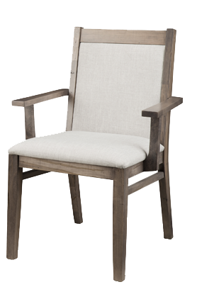 Baxter Padded Back Chair in Fabric (P-BA21Fabric)