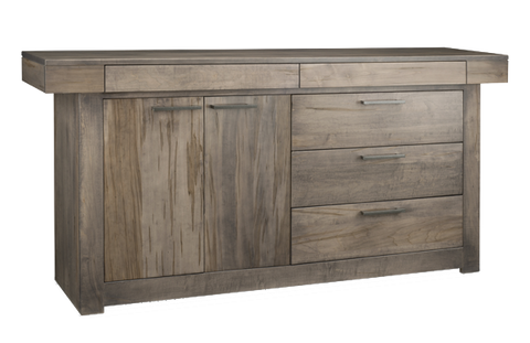Baxter 5 Drawer 2 Door Sideboard (P-BA410)