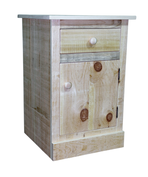 Rustic Pioneer 1 Drawer 1 Door Nightstand