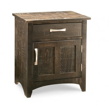 Bancroft 1 Drawer 1 Door Nightstand