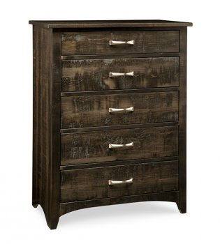Bancroft 5 Drawer Highboy
