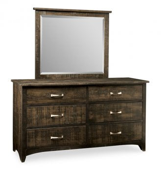 Bancroft 6 Deep Drawer Dresser