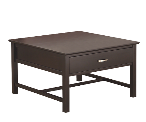1 Drawer Square Coffee Table