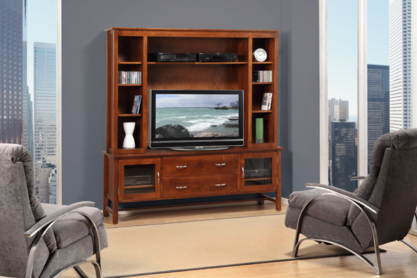 "Brooklyn 72"" TV Console with Hutch"