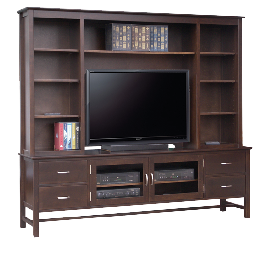 "Brooklyn 84"" TV Console with Hutch"