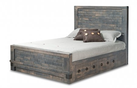 Barrelworks 4 Drawer Platform bed