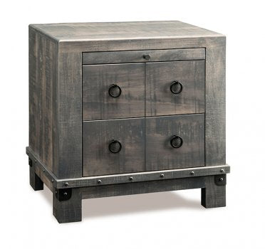Barrelworks 2 Drawer Nightstand