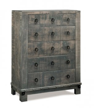 Barrelworks 5 Drawer Highboy