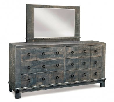 Barrelworks 6 Drawer Long Dresser