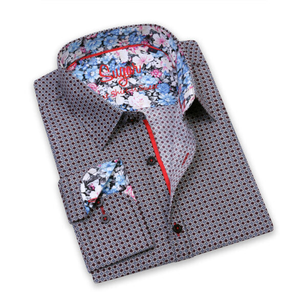 Patterned Dress Shirts