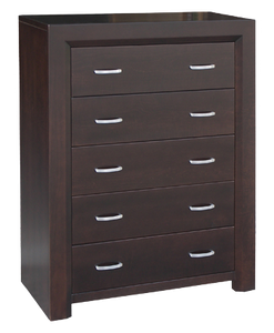 Contempo 5 Drawer Hiboy Chest