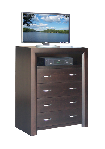Contempo 4 Drawer TV Hiboy