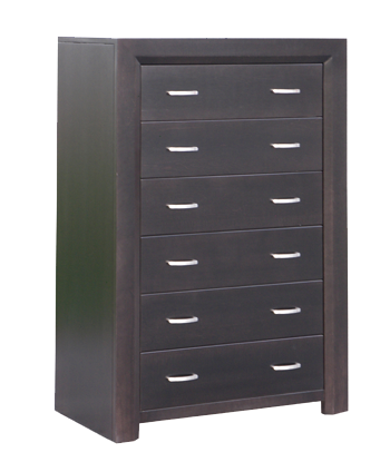 Contempo 6 Drawer Hiboy Chest