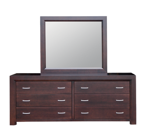 Contempo 6 Drawer Long Dresser