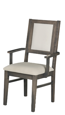 Contempo Padded Back Arm Chair