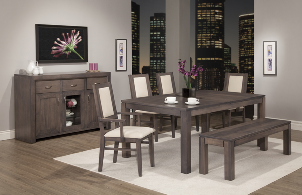 Contempo Harvest Table Dining Room