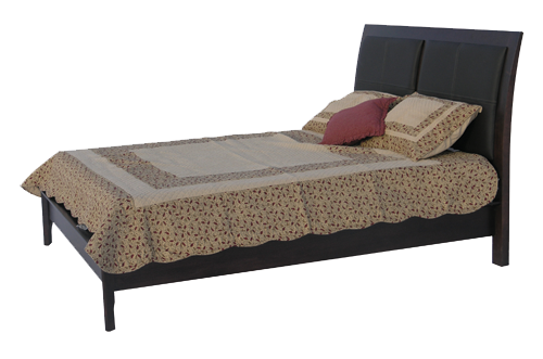 Demi-Lune Low Footboard Bed
