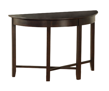 Demi-Lune Half Round Sofa Table