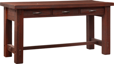 Timber 3 Drawer Island
