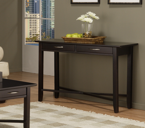 Demi-Lune Rectangle Sofa Table