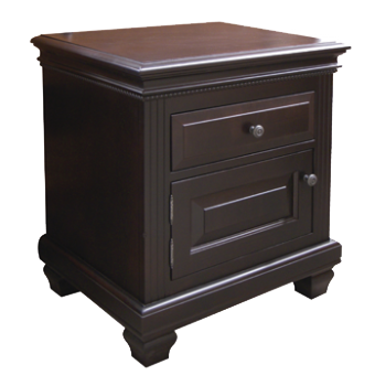 Florentino 1 Door 1 Drawer Nightstand