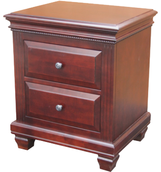Florentino 2 Drawer Nightstand