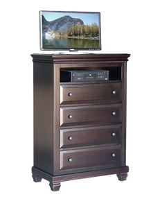 Florentino 4 Drawer TV Hiboy