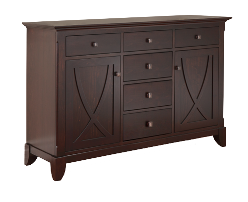 Florence 6 Drawer 2 Door Sideboard