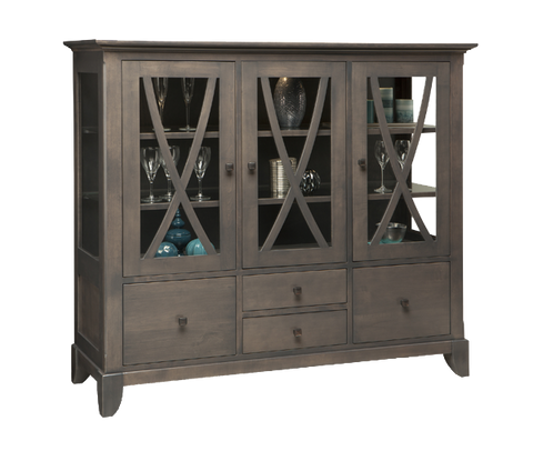 Florence 4 Drawer 3 Door China Cabinet