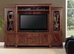 "4 Piece Wall Unit 67"" Centre Unit with Bookcases"