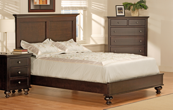 Georgetown Low Footboard Bed