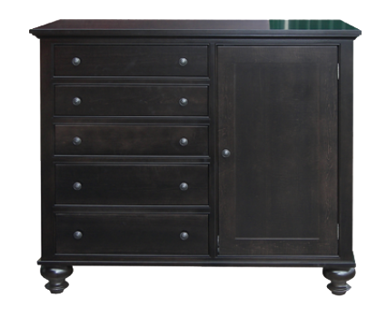 Georgetown 1 Door 5 Drawer Mule Chest