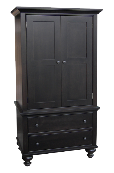 Georgetown 2 Door 2 Drawer Armoire