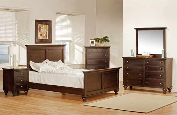 Georgetown High Footboard Bed