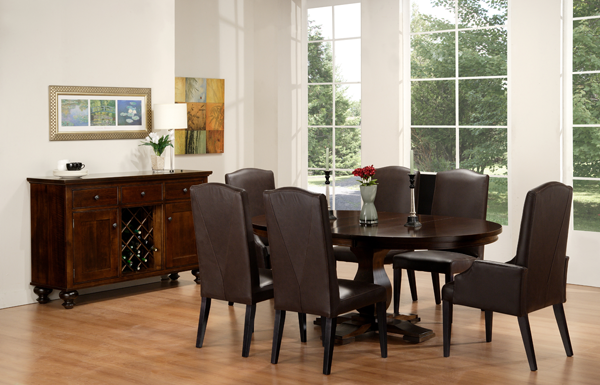 Georgetown Single Pedestal Table
