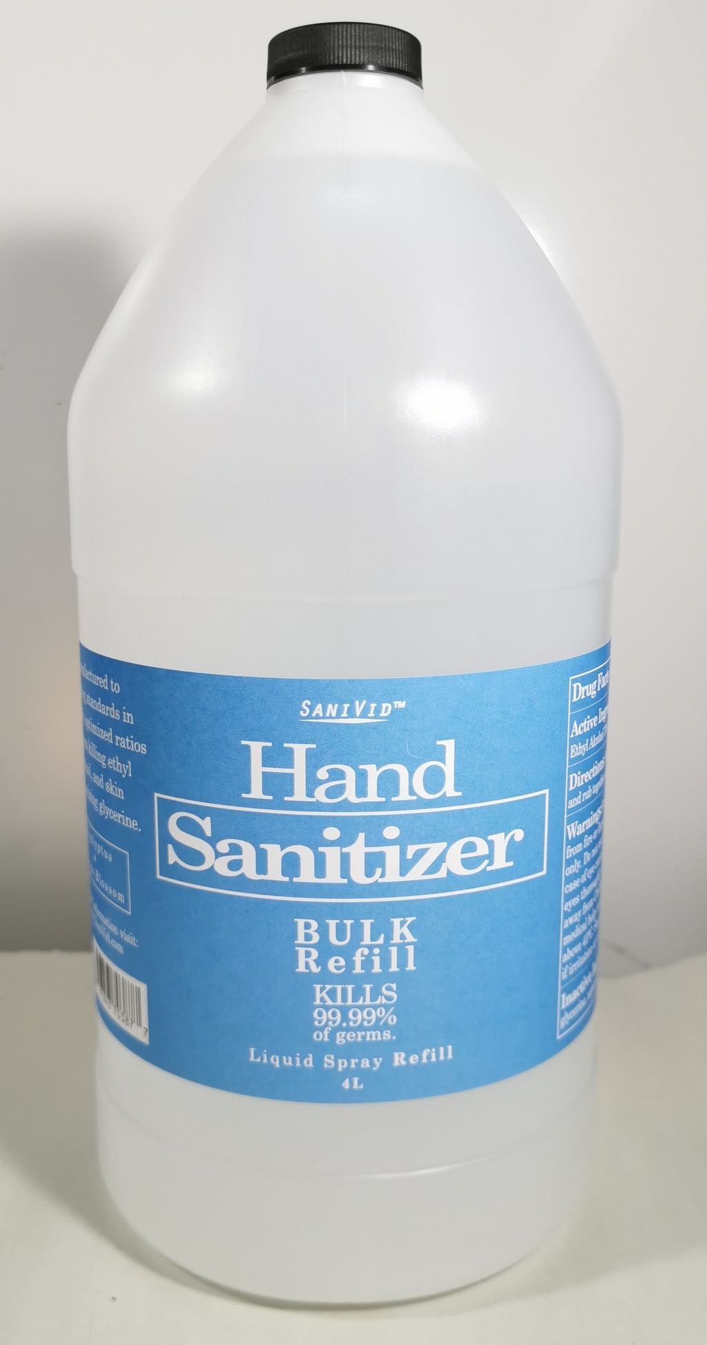 Hand Sanitizer 4L Refill