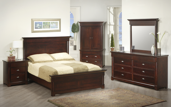 Hudson Valley Low Footboard Bed
