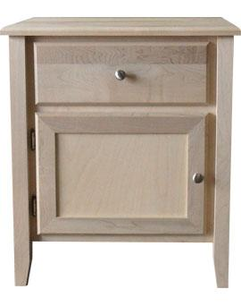 Kennaway 1 Drawer 1 Door Nightstand