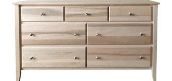 Kennaway 7 Drawer Dresser