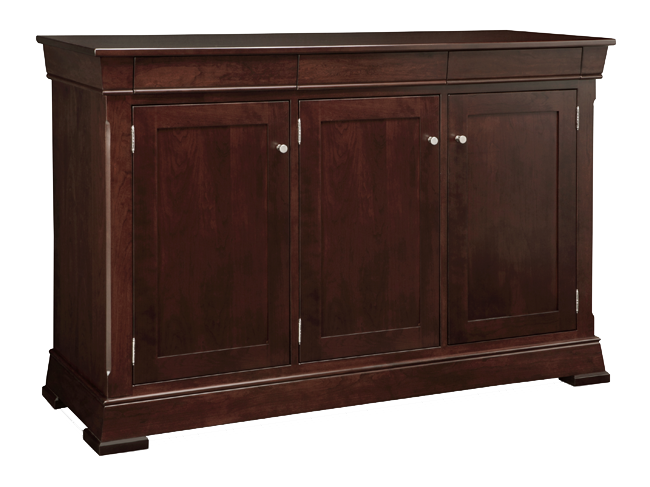 Kensington 3 Drawer 3 Door Sideboard