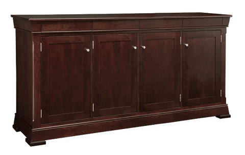 Kensington 4 Drawer 4 Door Sideboard