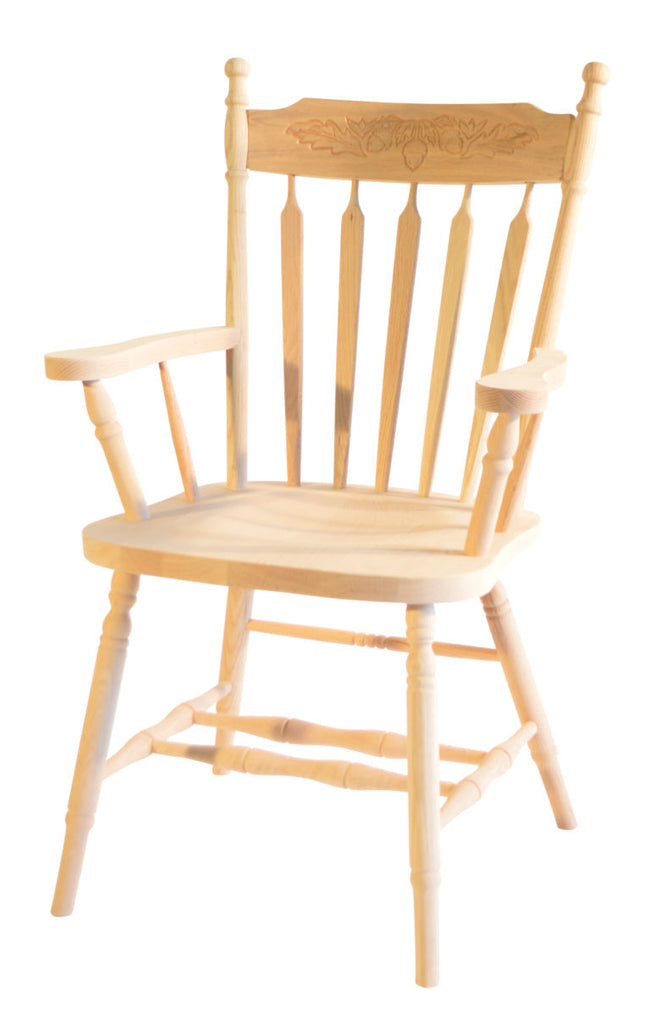 Kitchen Arrow Back Arm Chair