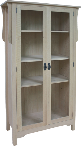 Mission 2 Door Tall Bookcase