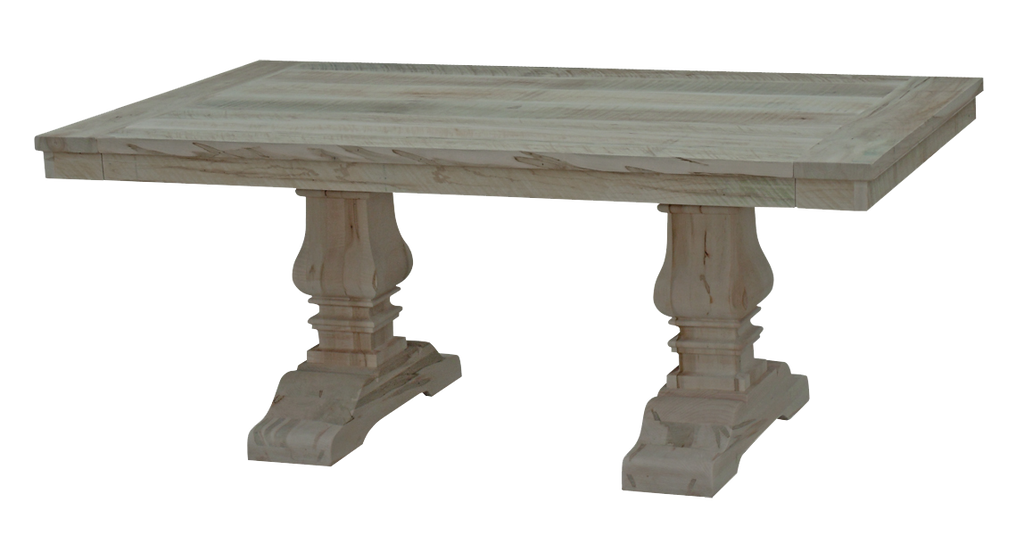 Century Millsawn Pedestal Table