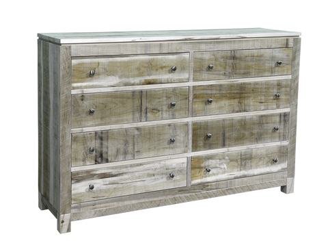 Rough Cut Metro 8 Drawer Dresser