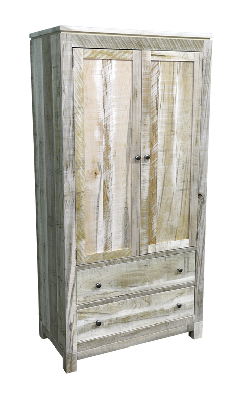 Rough Cut Metro Armoire